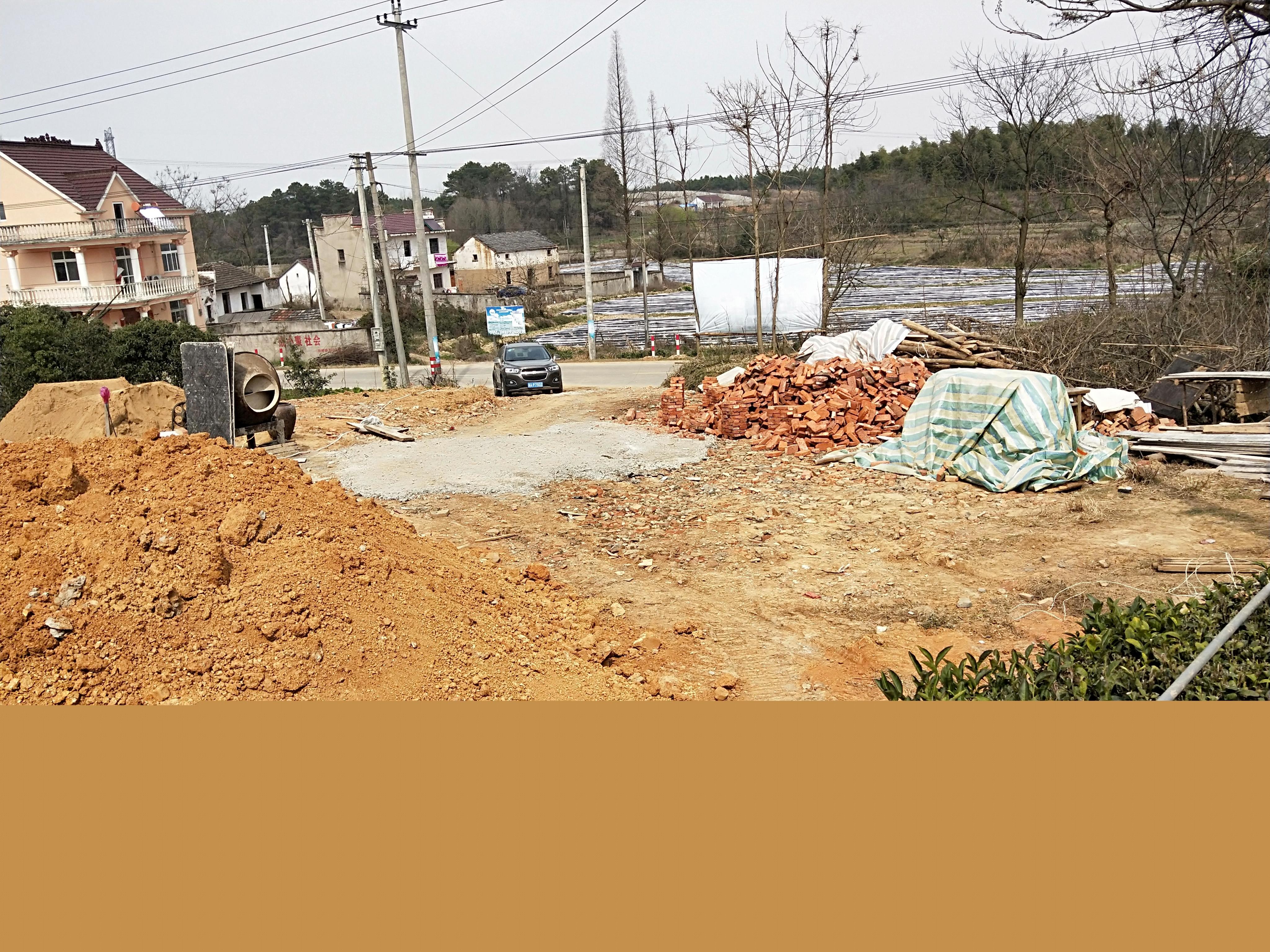 安徽宣城何根南别墅项目工地直播
