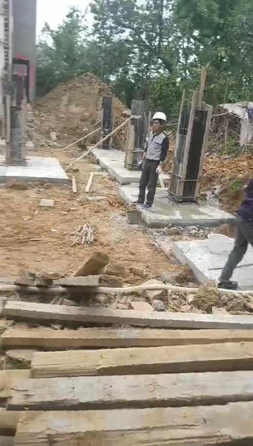 湖北黄冈肖川别墅(百城计划,图纸修改)工地直播