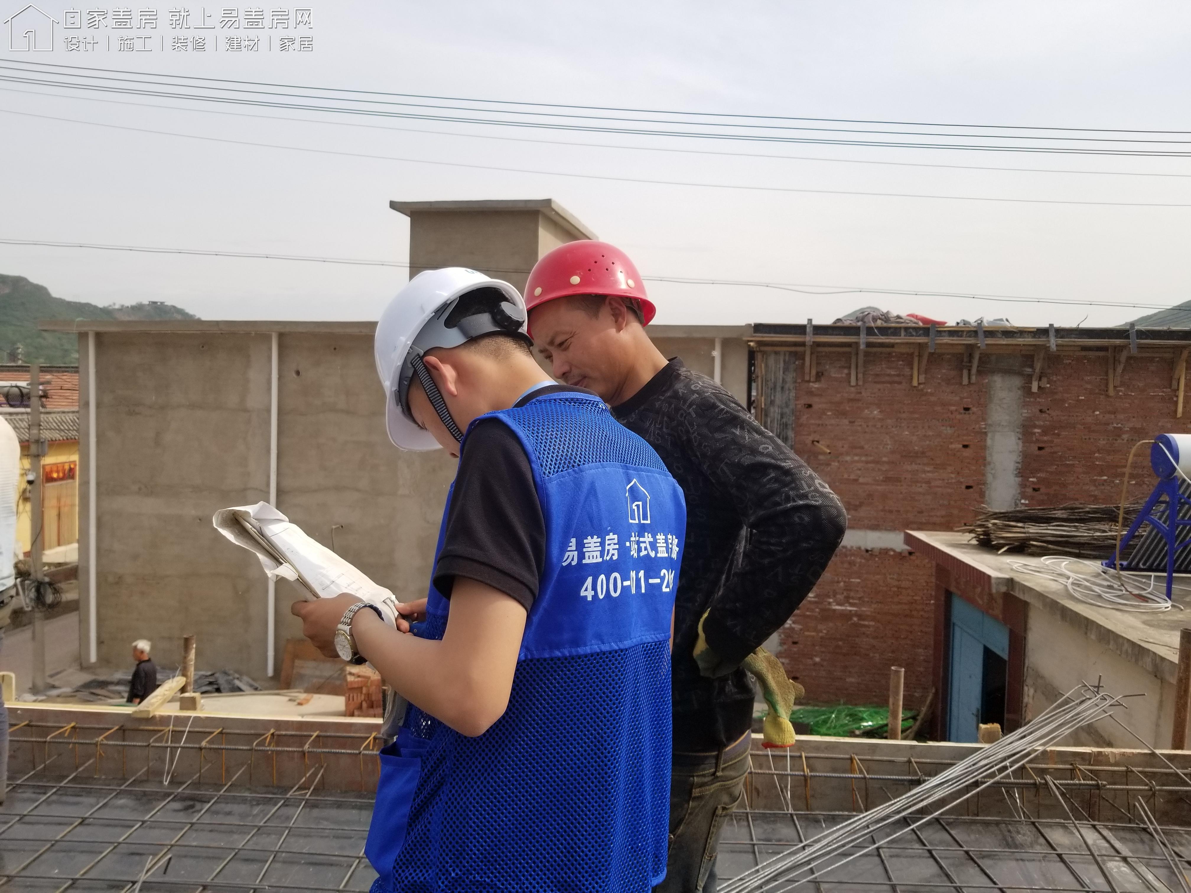 北京懷柔高超別墅工地直播