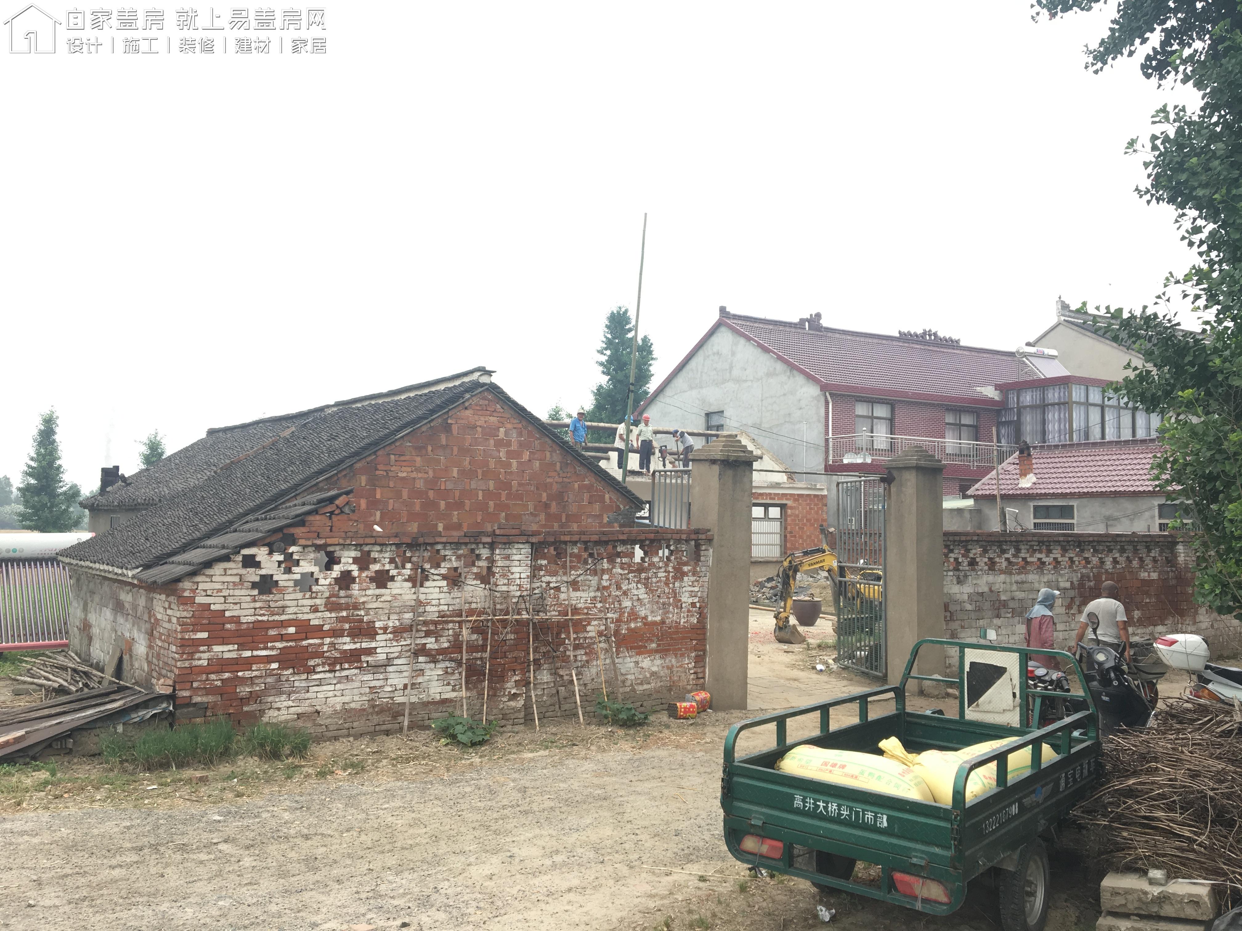 江蘇南通如皋袁秀娟別墅項目工地直播