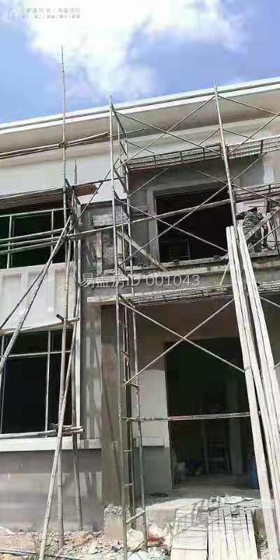 安徽宣城何根南別墅項目工地直播