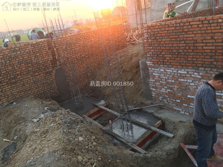 安徽蚌埠陶占輝四合院項目工地直播