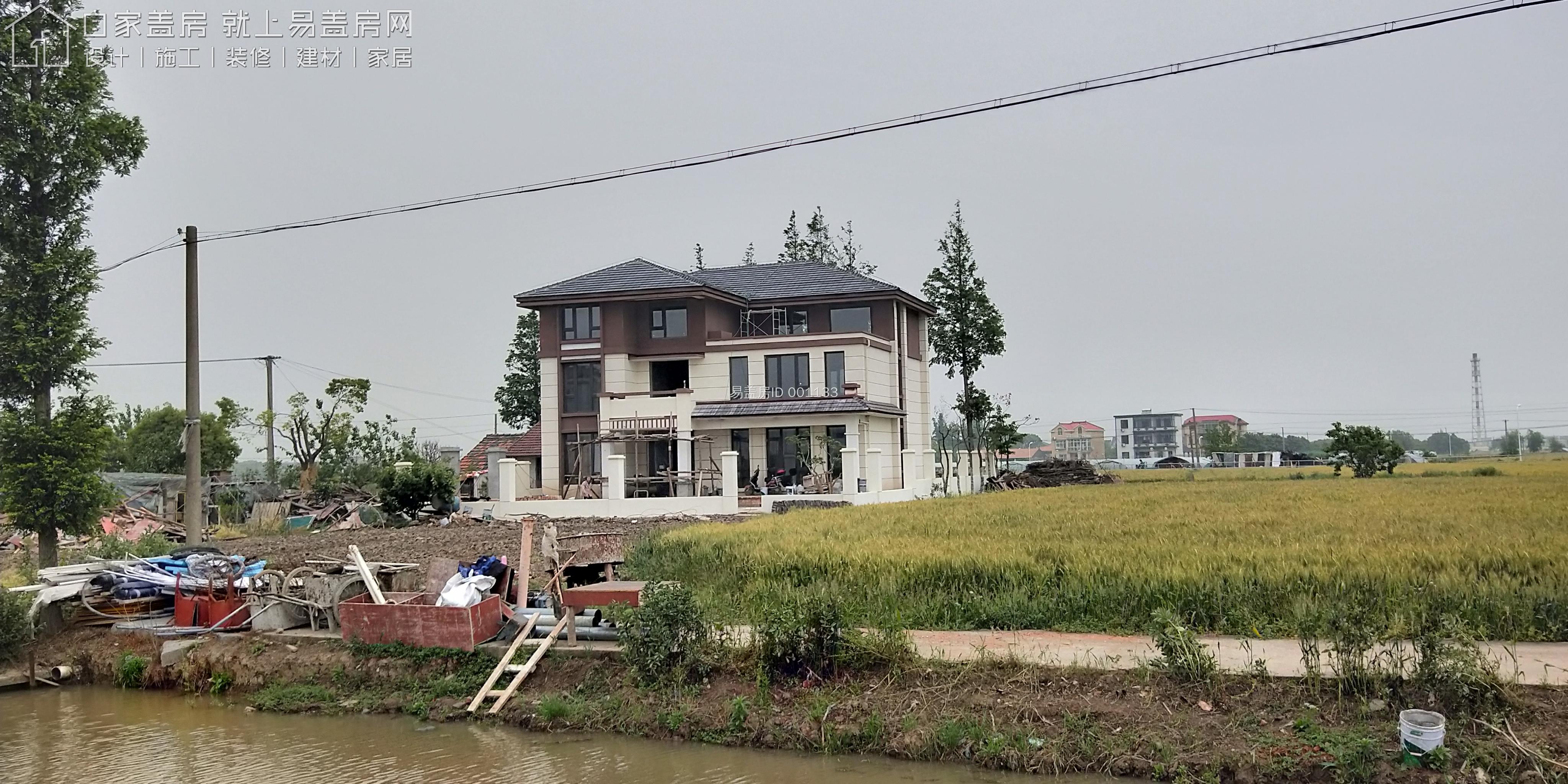 上海浦東張召明別墅工地直播