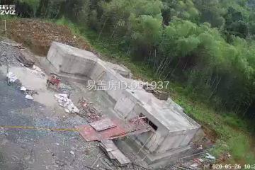 浙江杭州駱嬌嬌別墅工地直播