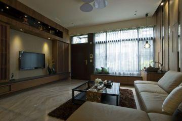 河南南陽李家別墅室內