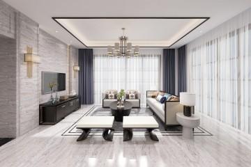 廣西南寧歐式別墅室內裝修