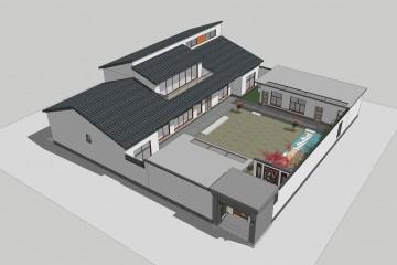 浙江林穎小院設計
