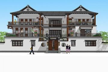 湖南新中式別墅項目