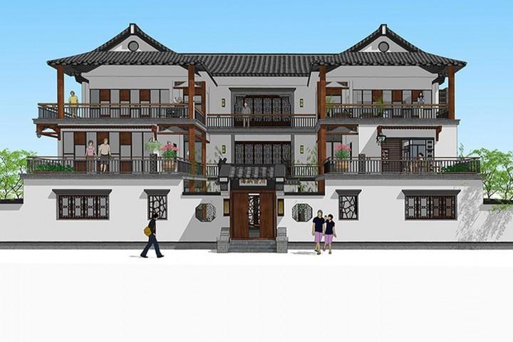 湖南邵阳新中式别墅