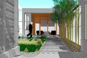 北京香山別墅庭院景觀設計
