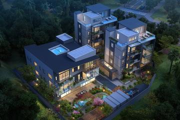 海南三亞三棟別墅群設計