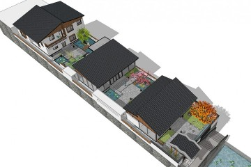 浙江院落住宅项目