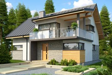 河南两层超实用现代住宅