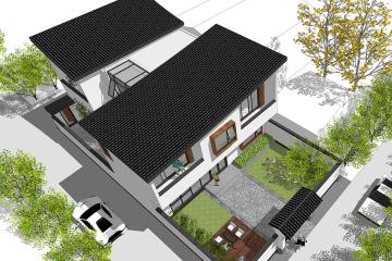 江蘇揚州新中式別墅項目