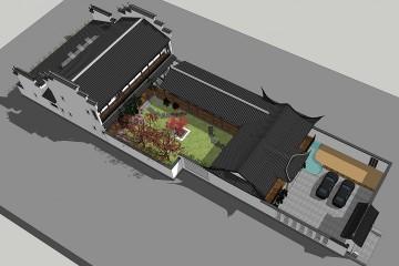 安徽安庆中式别墅设计