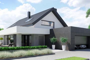 两层实用现代住宅