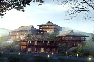 贵州岜沙原奢度假村别墅(一)
