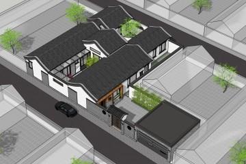 北京顺义李家新中式别墅