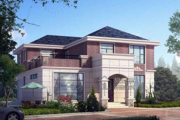 福建泉州二层欧式别墅