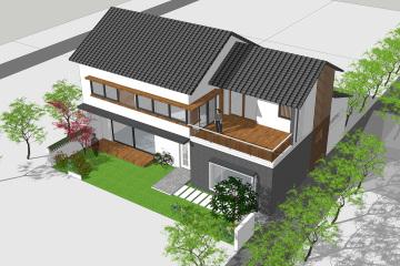 河北廊坊董家新中式别墅设计图纸
