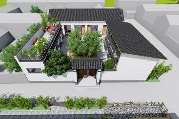 北京怀柔刘家新中式民宿改造