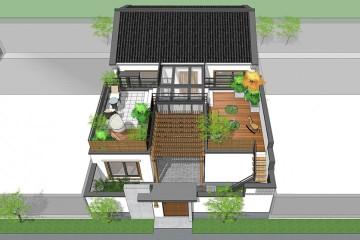 北京密云张家新中式别墅
