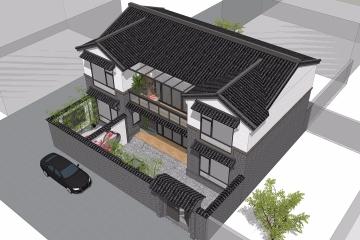 北京平谷杨家新中式别墅