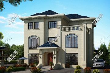 安徽?#36153;?#38065;家欧式别墅设计图纸