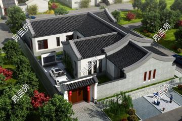 江山东滨州张家新中式别墅