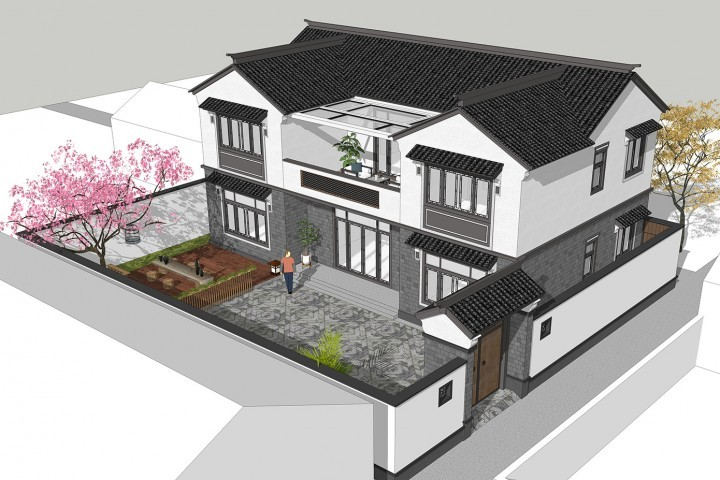 甘肃兰州司家新中式别墅