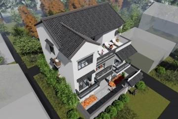 广西南宁曾家新中式别墅