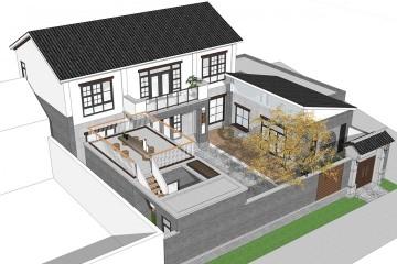 山西运城新中式宅院