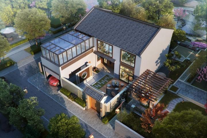 北京延庆马家新中式别墅
