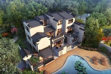 江西吉安曾家新中式别墅