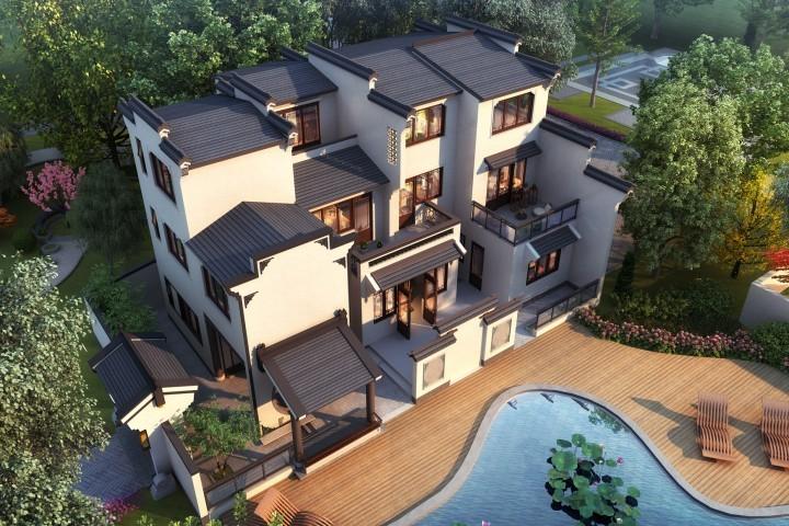 江西吉安曾家新中式別墅