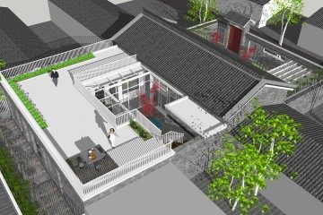 北京通州楊家新中式宅院
