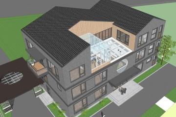 河北保定新中式办公楼