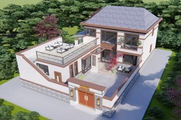 北京密云王家新中式宅院