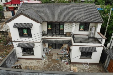 北京房山孙家新中式乡墅