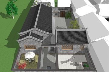 北京房山付家中式民宿
