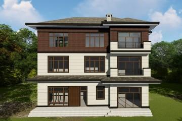 湖南长沙李家新中式别墅