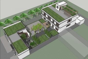 河北張家口蓋家新中式宅院