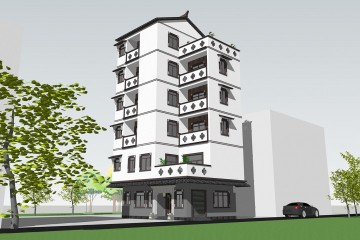 广东潮州陈家新中式别墅(百城计划)