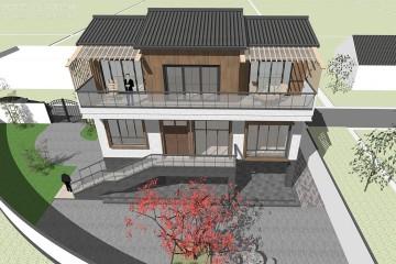 四川达州陈家新中式宅院