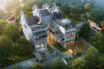 北京徽派別墅設計圖紙