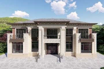湖南婁底石家新中式別墅