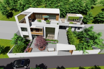 安徽池州程家现代风格宅院