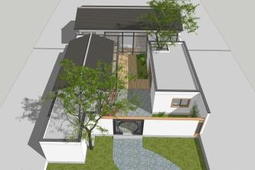 北京顺义陈家新中式宅院