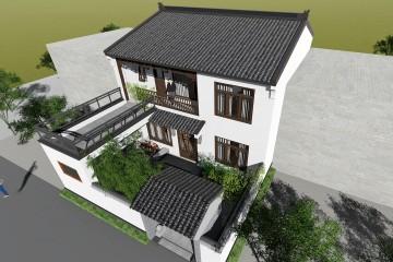 陕西西安吴家新中式别墅