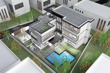 广东惠州徐家现代宅院